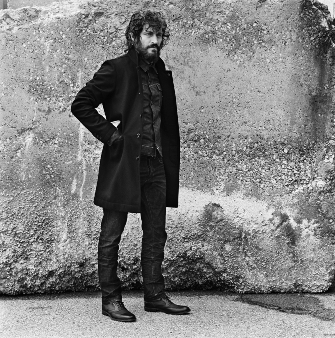 G Star Raw Autumn Winter 2011 Vincent Gallo Copyright Anton Corbijn 19