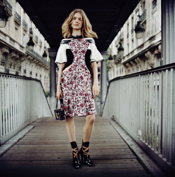 Louis Vuitton Fashion Paris 2014  Copyright Anton Corbijn 02