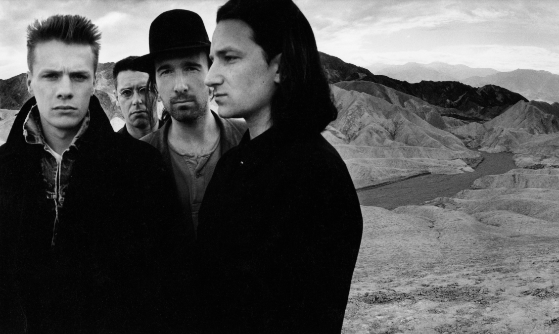 U2 Death Valley 1986 Copyright Anton Corbijn 00
