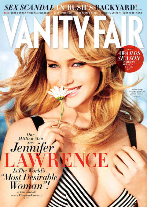 Ellen Von Unwerth Vanity Fair Jennifer Lawrence 1