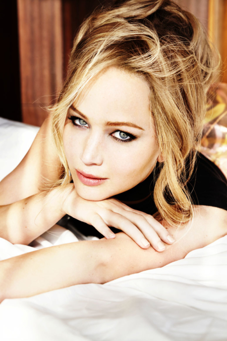 Ellen  Von  Unwerth  Vanity  Fair  Jennifer  Lawrence 5
