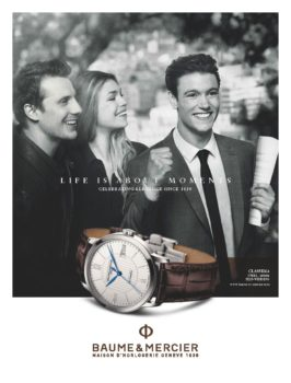 Eric Guillemain Baume Mercier
