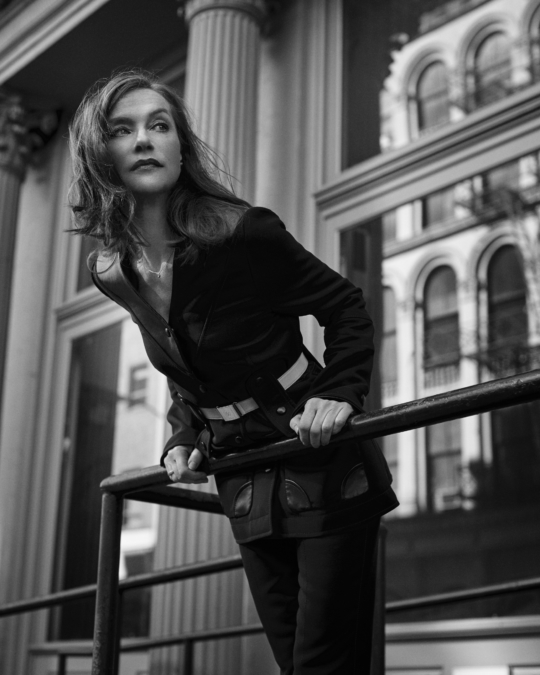 Eric  Guillemain  Air  France  Madame  Isabelle  Huppert 1
