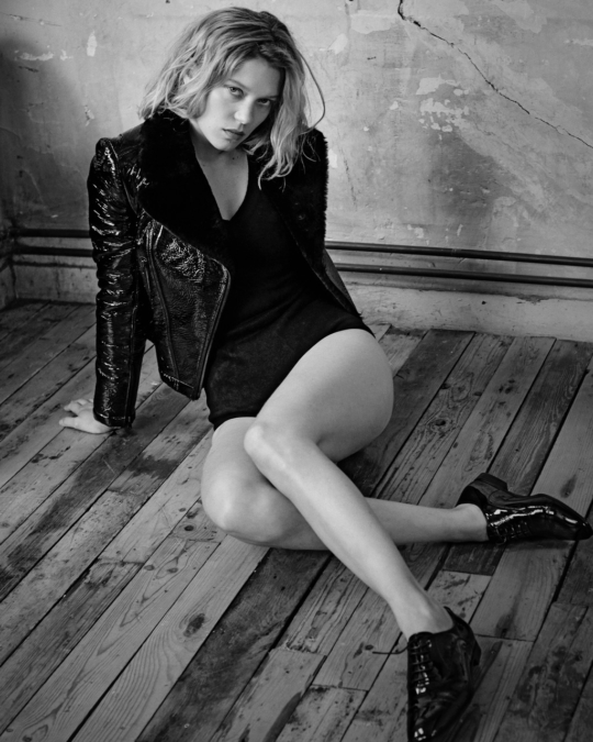 Lea Seydoux Gq Eric Guillemain