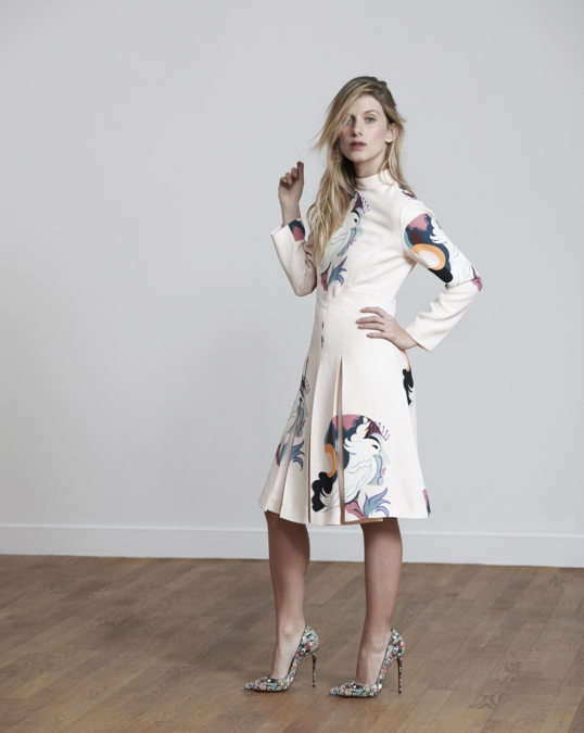 Eric Guillemain Mélanie Laurent S Moda4