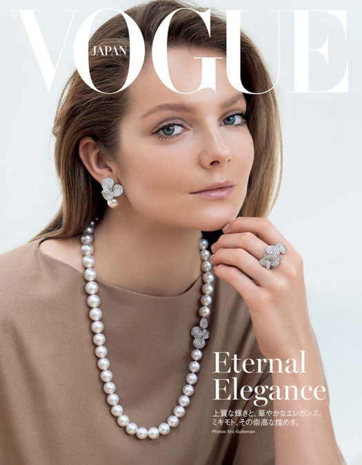 Eniko Mihalik By Eric Guillemain For Vogue Japan November 1 1