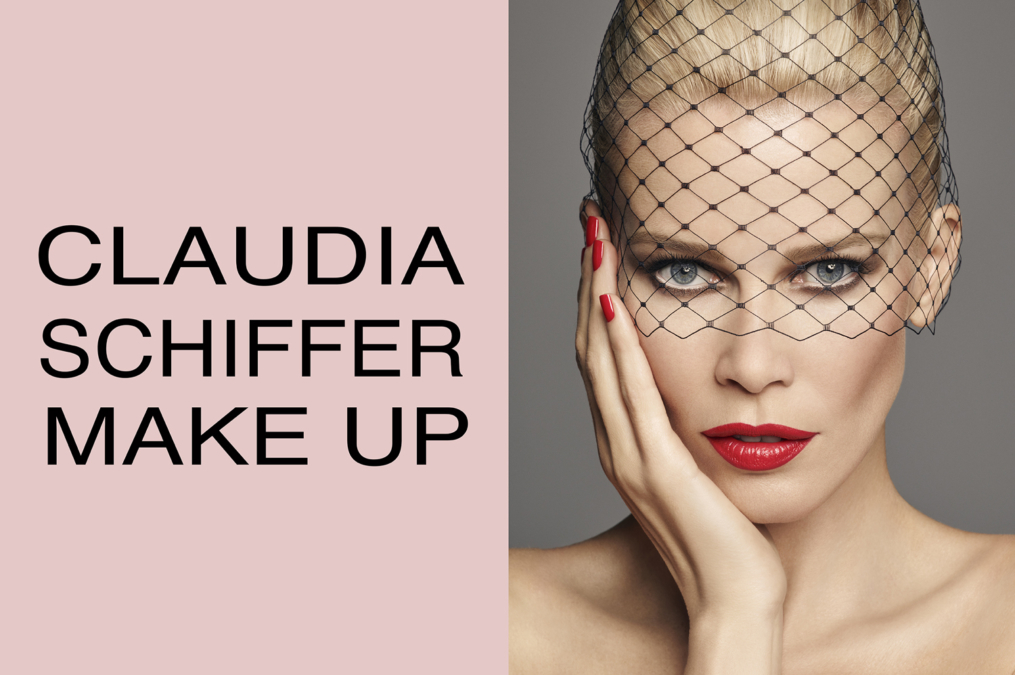 Luigi  Iango  Claudia  Schiffer Make Up1