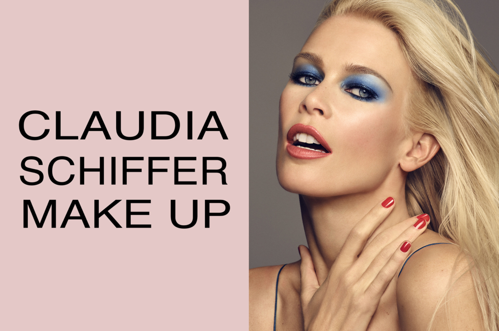Luigi  Iango  Claudia  Schiffer Make Up3