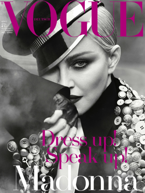 Luigi Iango Vogue Germany Madonna 1