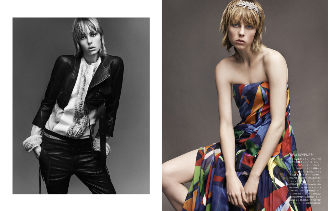 Luigi Iango Vogue Japan Edie Campbell3