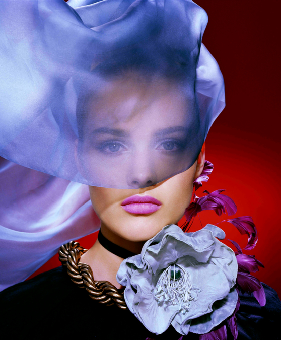 Miles Aldridge Harpers Bazaar Beauty 1