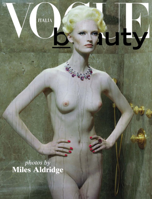 Miles Aldridge Vogue Italia Beauty Covers1
