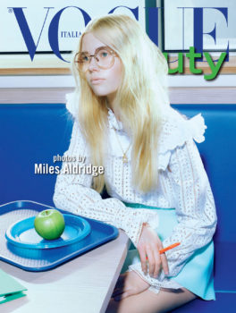 Miles Aldridge Vogue Italia High School1