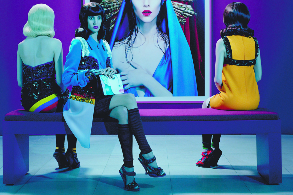 Miles Aldridge Vogue Italia Prada5