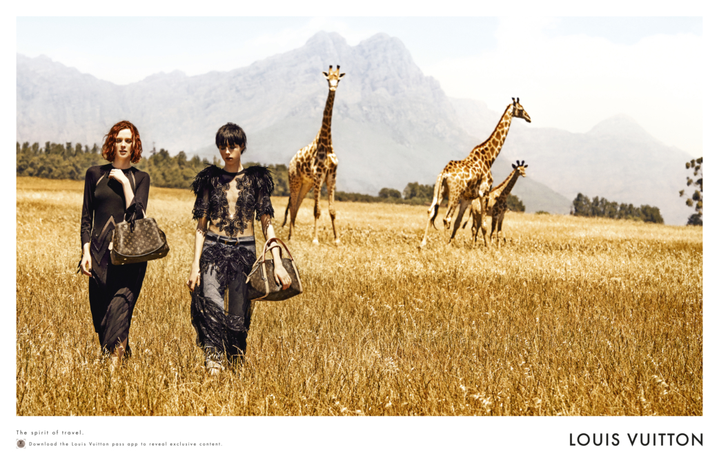 Peter Lindbergh Louis Vuitton Treks To South Africa 0