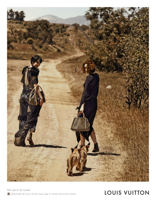 Peter Lindbergh Louis Vuitton Treks To South Africa 2