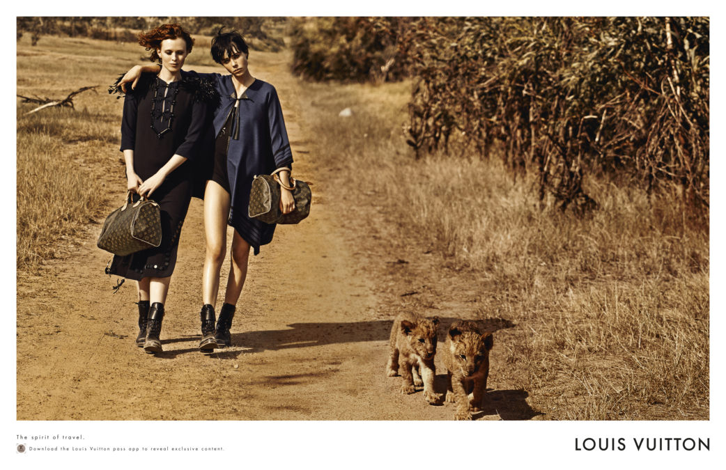 Peter Lindbergh Louis Vuitton Treks To South Africa 9