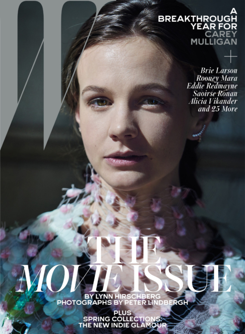 Peter Lindbergh W16 1 Carey Mulligan Cover
