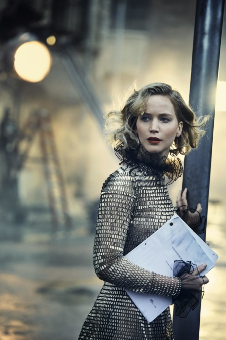 Peter Lindbergh Vanity Fair Jennifer Lawrence 3