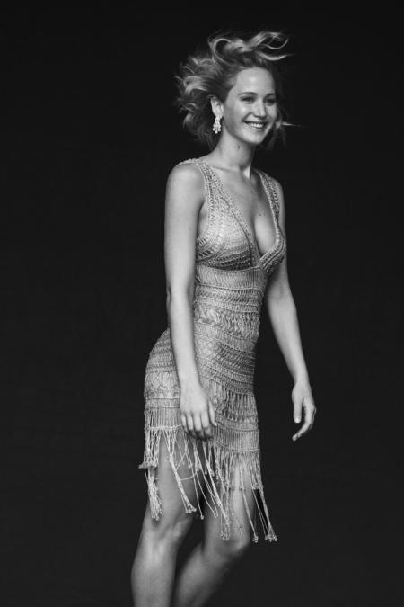 Peter Lindbergh Vanity Fair Jennifer Lawrence 6