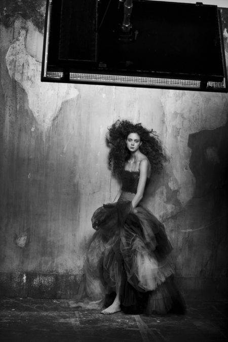 Peter Lindbergh Vogue It Edito Couture 16