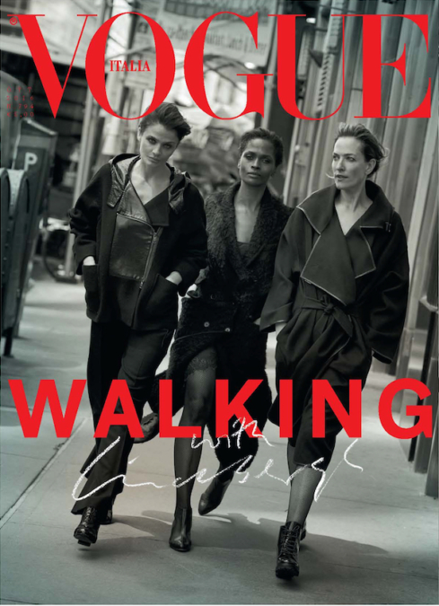 Peter Lindbergh Cover Vogue