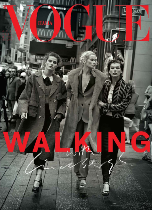 Peter Lindbergh Vogue Italia Walking With Lindbergh 1